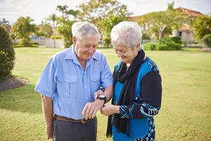 The Find-me Tunstall carers watch is your key to longer independent living.